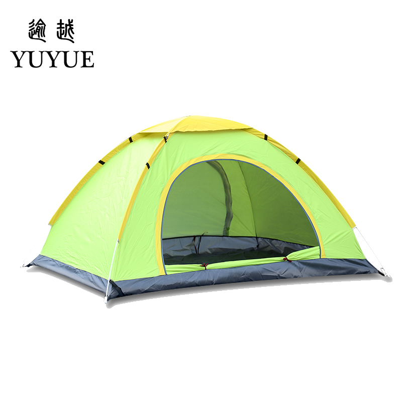 3-4 person tent quick automatic opening outdoor camping tourism pop up outdoor camping tent for hiking family tent  0