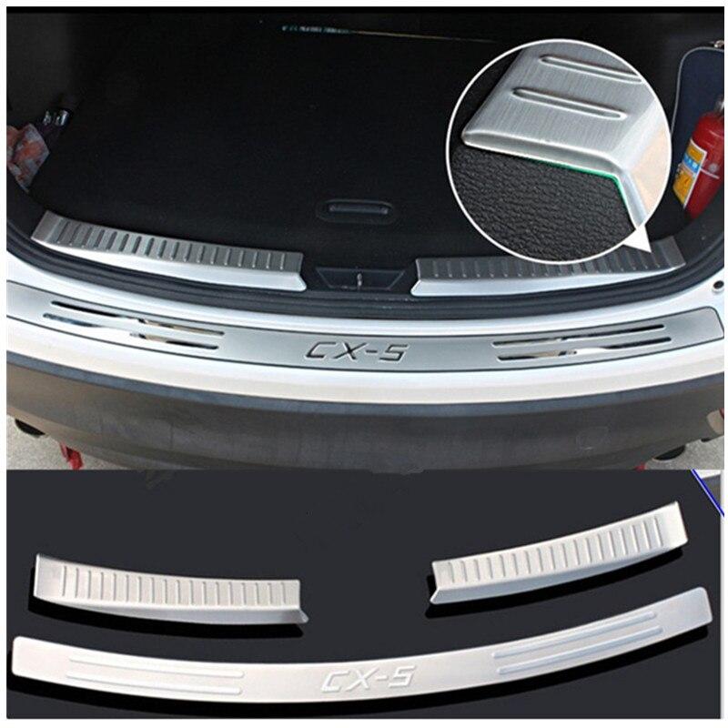 For Mazda CX-5 2012-2016 steel Inner Rear Door Trunk Fender Plate Trim