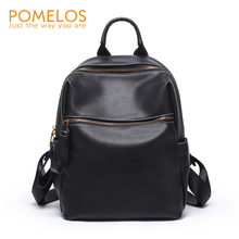 POMELOS Backpack Women New Arrival Designer High Quality PU Leather Women Backpack Travel Bagpack For School Girls Rucksack