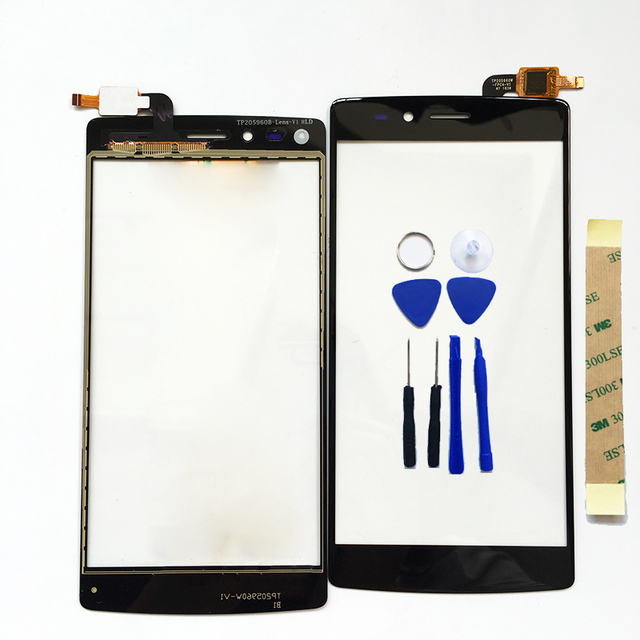 Black Touch Screen For Vernee Apollo Lite Touch Panel Digitizer Touch Screen For Vernee Apollo Lite Front Outer Glass Sensor