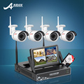 Anran kit nvr plug & play inalámbrico 7 pulgadas pantalla lcd 1 tb hdd 720 p HD Cámara IP WIFI IR Al Aire Libre Cámara de Seguridad CCTV Sistema Home