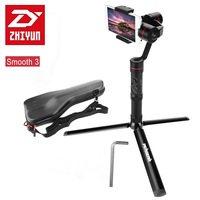 Professional Zhiyun Smooth 3 Smooth III 3 Axis Brushless Handheld Gimbal Mini Tripod For IPhone 7