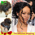 Peruvian Deep Curly Lace Front Wig 8A Grade Full Lace Human Hair Wigs For Black Women Lace Front Human Hair Wigs With Baby Hair