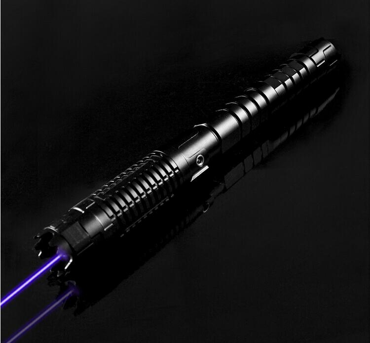 Super Powerful Blue laser pointers B970 450nm Flashlight burning burn match dry wood/cigarettes+charger+glasses+box