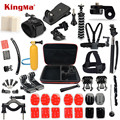 KingMa Gopro hero 5 Accessories kit for gopro hero 4 3+ 3 SJCAM M10 SJ4000 SJ5000 SJ7000 SJ9000 Xiaomi yi sjcam Accessories sets