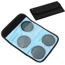 Fotga 4 슬롯 포켓 필터 케이스 백 파우치 cokin p serie 또는 58 62 77 25 82mm