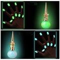 Bonito Cores Doces Unha Polonês Luminosa 8 ml Fosco Unha Polonês Fluorescente Prego Pintura Luminosa Não-tóxico Polidores DYY1581