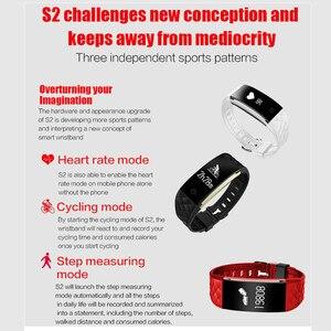 Image 5 - S2 سوار ذكي GPS الحركة المسار الذكية معصمه مراقب معدل ضربات القلب IP67 الرياضية اللياقة البدنية سوار تعقب بلوتوث الذكية الفرقة