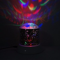 Funny Lighting Toys Projector Lamp LED Laser Flashing Atmosphere Lamp Colorful Twilight Indoor Birthday Party Toys