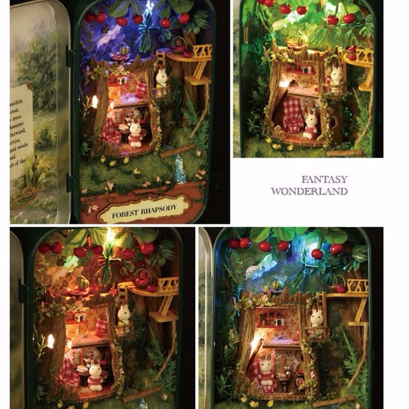 Forest Rhapsody Box Theatre DollHouse