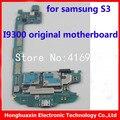 16 gb buena calidad motherboard i9300 100% versión de la ue de trabajo mainboard original para samsung galaxy s3 i9300 desbloqueo placa lógica