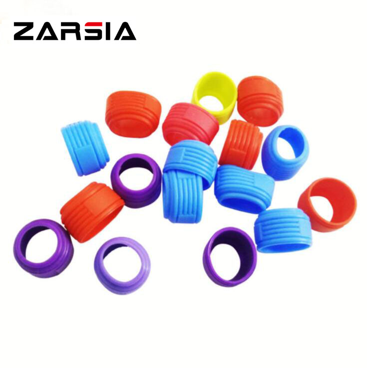 20pcs Various Candy color Silicone grip ring,badminton Racket ring,badminton racquet grip,Racket overgrip sealing ring