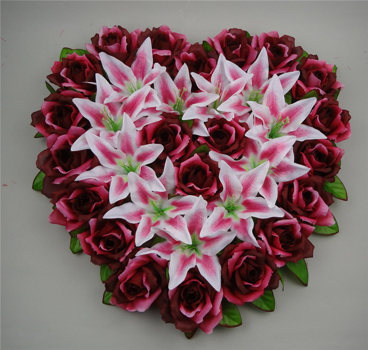 Aliexpress Buy 44x44cm Heart Shaped Wedding Car Decoration