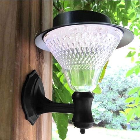 jardim parede luz sensor da lampada