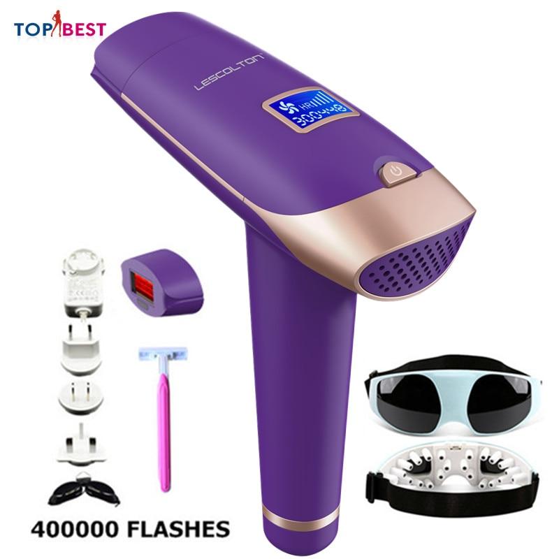 Depilador t009x casa portátil laser ipl permanente máquina de remoção do cabelo para mulher homem axila pernas biquíni depilador a laser