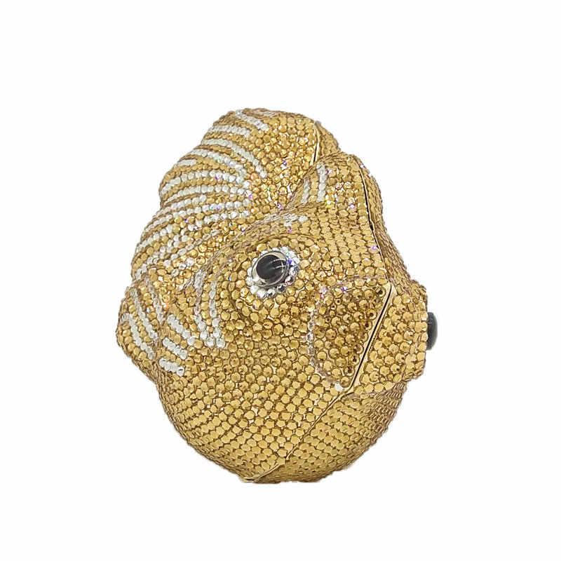 Ослепительный Оранжевый Золотой Кристалл Клатч вечерние сумки женские мини металлический жесткий чехол свадебные клатчи вечерние сумочки для невесты кошельки