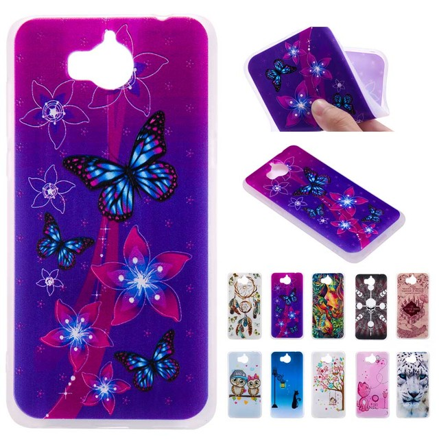 cheap for discount 134d0 97163 US $2.99 |3D Relief Soft Silicone Case for Huawei Y6 2017 MYA L11 MYA L41 Y  6 2017 Phone Cover for Huawei MYA L22 L23 L02 TPU Frame Core-in Flip Cases  ...