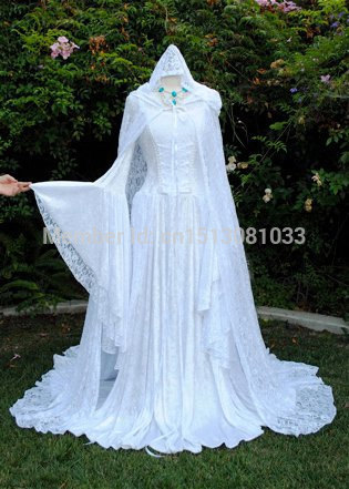 Aliexpress.com : Buy Gwendolyn Medieval Velvet and Lace Wedding Gown ...