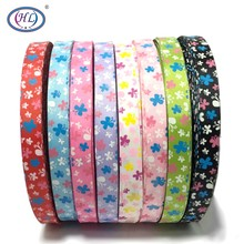 HL 5/8(15mm) 10 Meters/lot Butterfly Grosgrain Ribbons Wedding Party Decorative DIY Gift Box Wrapping Belt Making Hair Bows