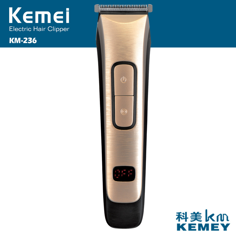 Kemei rechargeable hair trimmer clipper professional barber hair cutting machine haircut trimmer men electric shaver razor kemei 5 in 1 electric hair clipper men s electric trimmer professional hair cutting machine nose haircut shaver razor remover