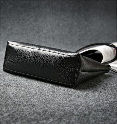 2017 última tendência preto mulheres Tipo Pacote Internal Structure : Mobile Phone Bag