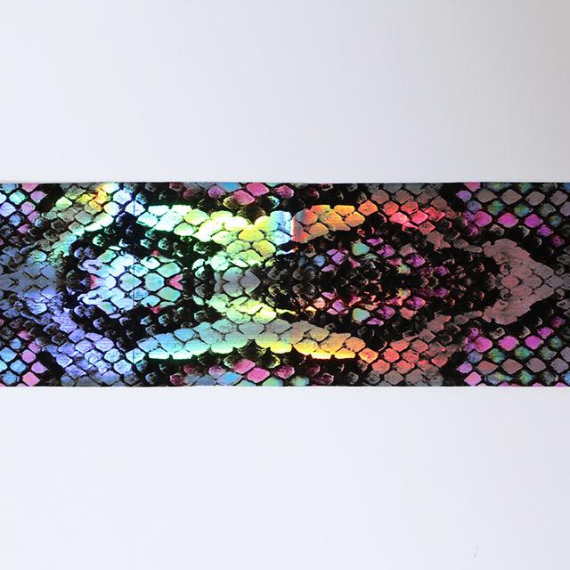16Pcs Snake Nail Foil Decoration