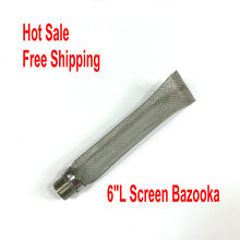 homebrew keg Bazooka Screen for  Stainless Steel Brewing Kettle Screen – 6″L, 1/2″MPT, filter accessories
