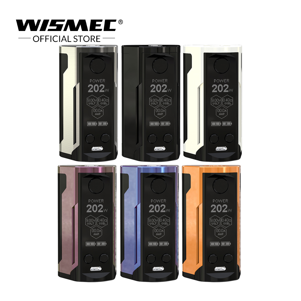 [Russische/USA/Frankreich] Wismec Reuleaux RX GEN3 Dual Mod Box Max Ausgang 230 watt VW/ TC-Ni/TC-Ti/TC-SS/TCR Elektronische zigarette vape mod