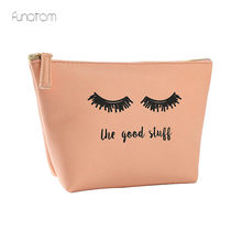 Eyes print Women Travel Cosmetic Bag Makeup Bags Handbag Female Zipper Purse Small Make Up Bags Travel Beauty Organizer Pouch