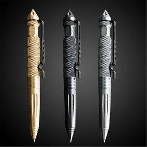 High quality Metal Colour Tactical defense pen School student office Ballpoint pens