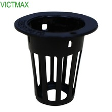 VICTMAX 10Pcs Garden Nursery Potter Vatten Soilless Culture Planting Baskethållare Hydroponic Mesh Net Pot Basket
