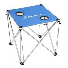 LHBL AOTU Ultra-léger Portable Pliable Table Pliante Bureau pour Camping En Plein Air de Pique-Nique Voyage BARBECUE sur la Plage