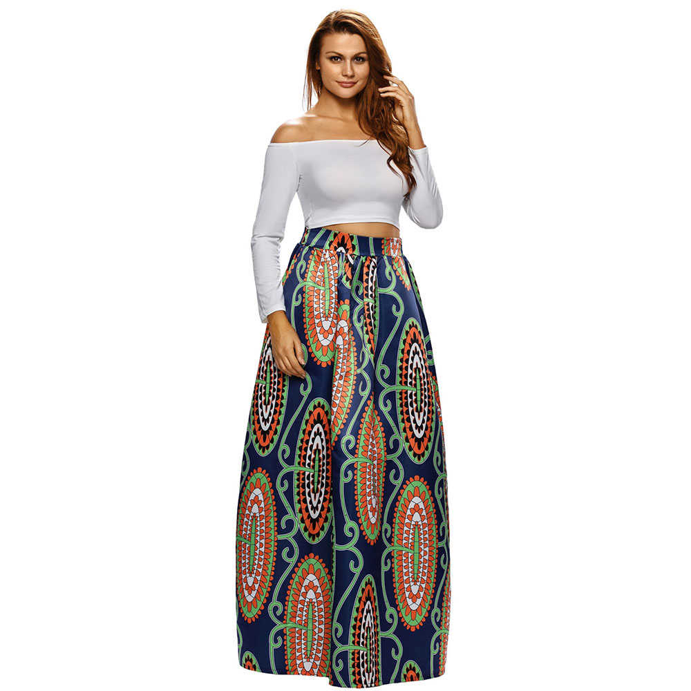 Floral Skirt Long Promotion-Shop for Promotional Floral Skirt Long ...