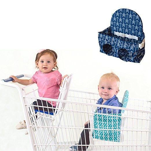 Baby Warenkorb Hängematte Supermarkt Warenkorb Baby Sitz Tragbare Warenkorb Sitze Baby Sitz Reine WeißE