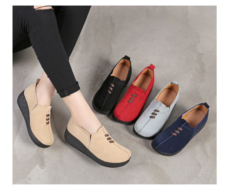 LL 3022-2019 Spring Autumn Women Wedge Shoes-1