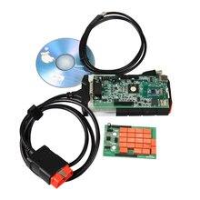 Novo VCI 2015. R3 EOBD OBDII Carros e Caminhões Ferramenta de Diagnóstico Scanner Bluetooth USB Interface de Comunicação Do Veículo com Keygen
