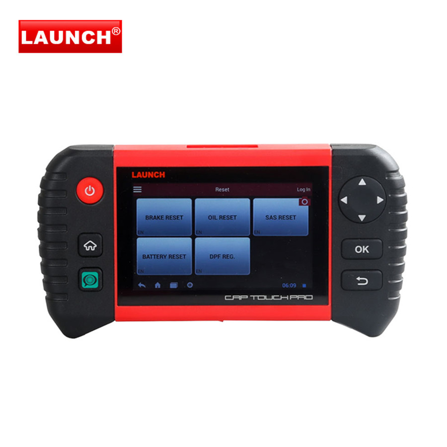 Launch Creader CRP Touch 5.0 Android Touch Screen Full System Diagnostic Service Reset Tool