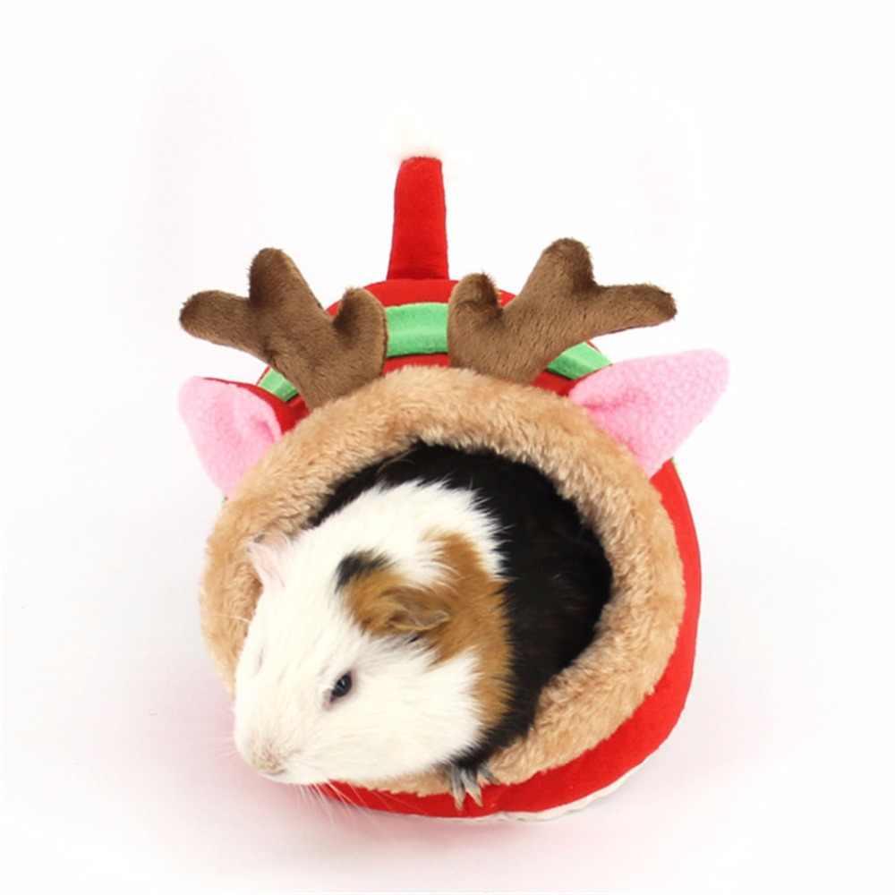 Размер S, L, жираф, свинья, лось, форма, маленький домик для домашних животных, мягкий флисовый кролик, хомяк, спальный мешок, зимняя теплая для щенков собак, кошка, клетка для животных