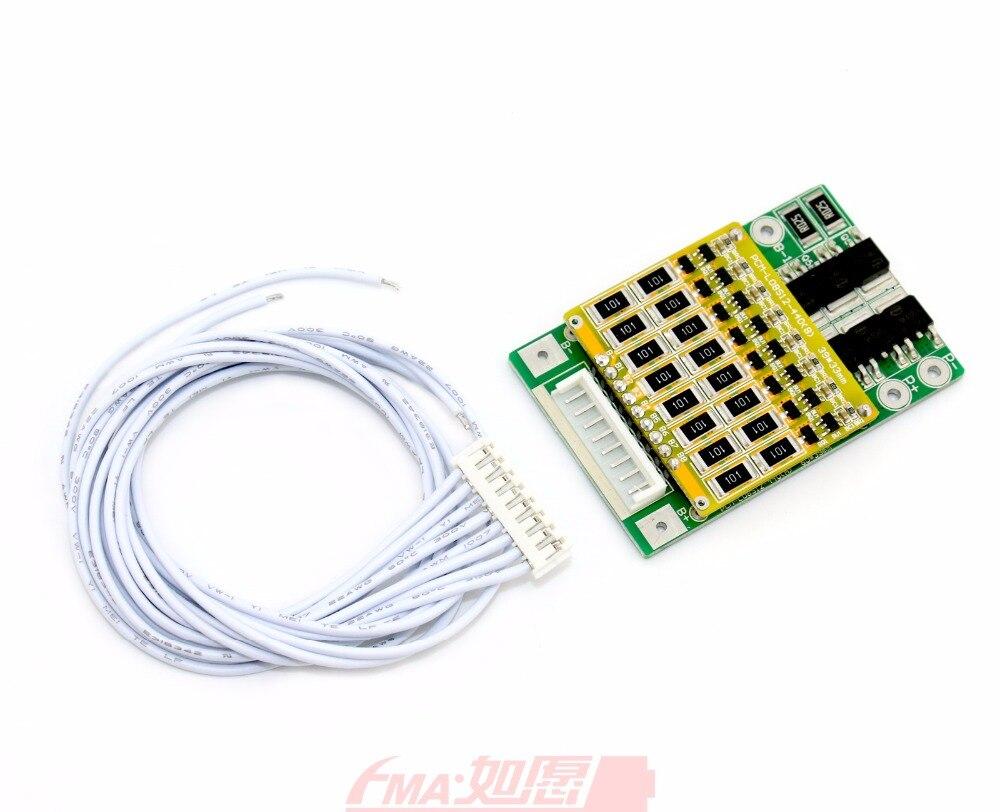 Li Ion 18650 74v 10400mah Battery Pack With Pcm 8cells To 2s4p W 7 2v 4v Protection Circuit Module C D 2 For 8s 288v 296v Po