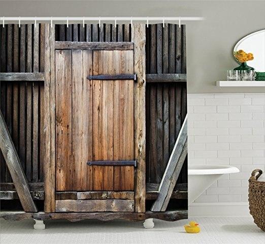 Memory Home Rustic Country Barn Wood Door Old Wooden Garage Door