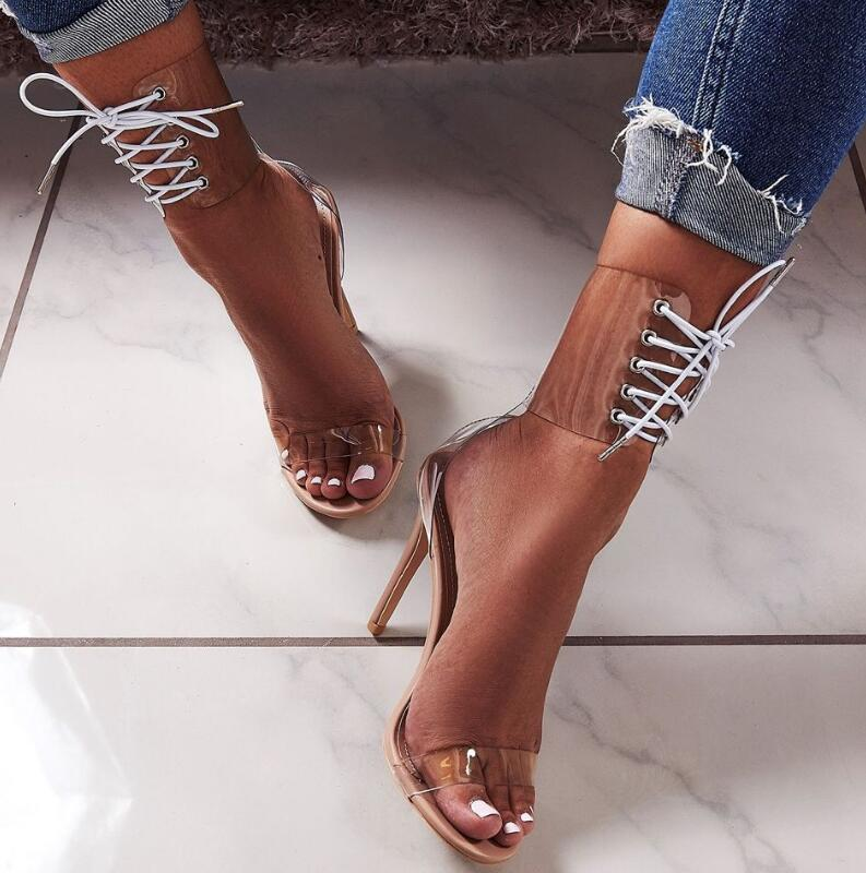 women-summer-sandals-clear-lace-up-shoes-woman-zapatos-mujer-ladies-thin-high-heels-pumps-cross