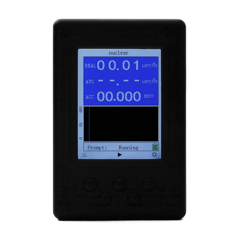 Portable Dosimeter Geiger Counter Nuclear Radiation Detector X ray Beta Gamma Detector-in Electromagnetic Radiation Detectors from Tools    1