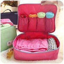 Korean Fashion Reise Aufbewahrungstasche Tragbare Gepäck Organisation Taschen Für Reise Zubehör Kosmetische Unterwäsche Oganizer