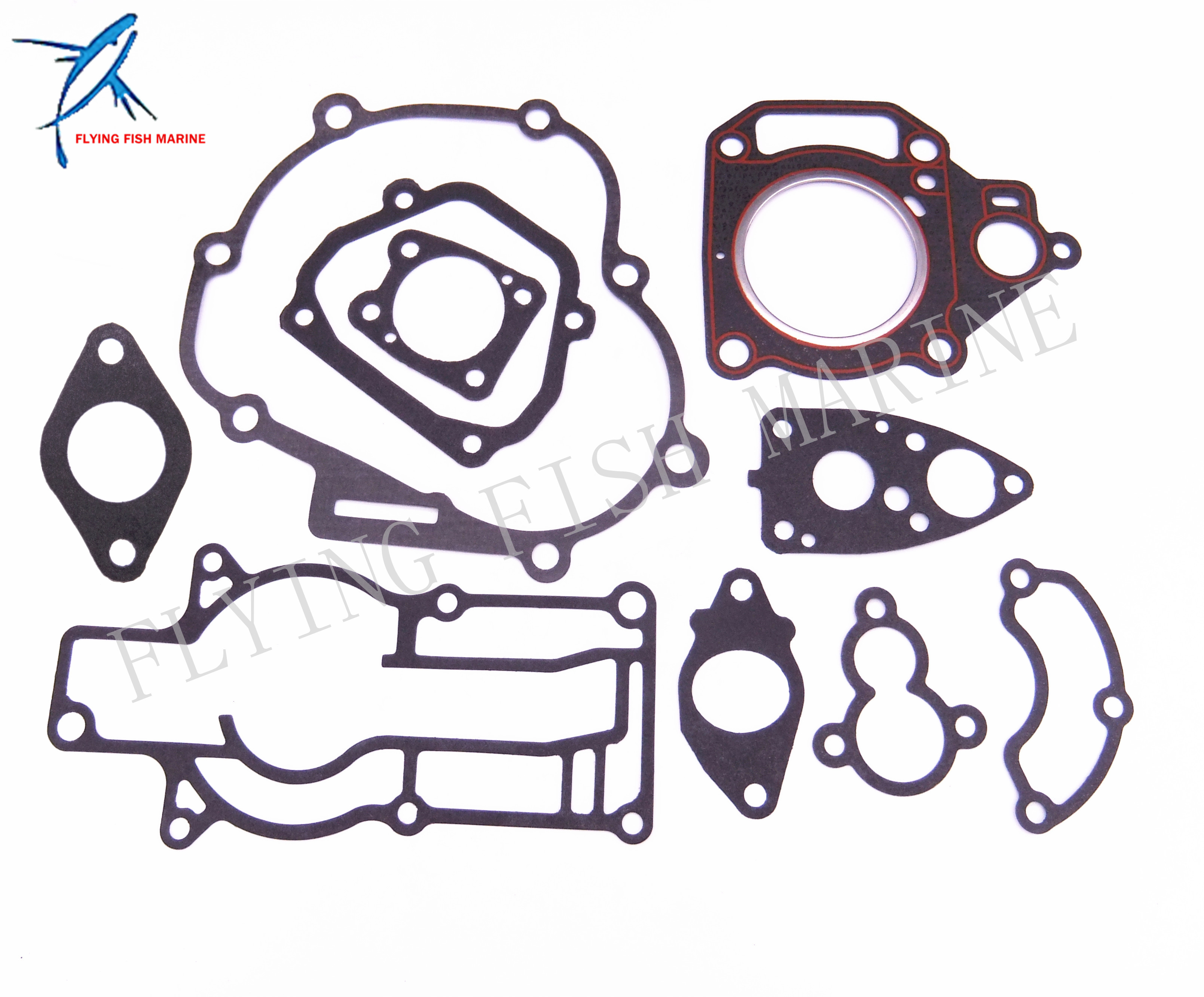 Complete Power Head Seal Gasket Kit for Yamaha F4 4HP 4 stroke Boat Outboard Motor