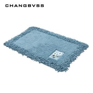 Image 2 - durable bathroom rug set,luxury big size bath tub mat non slip,door bathroom set carpet,bath mats rugs floor,60X90CM, 45X120CM