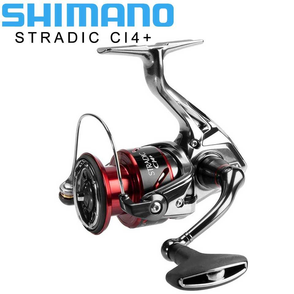 Bobine de pêche SHIMANO stradique ci4 + 160g poids HAGANE vitesse 1000-4000XG 6 + 1BB bobine de pêche à l'eau de mer AR-C