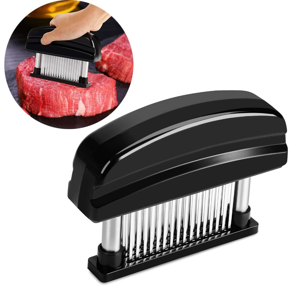 Professional Meat Tenderizer Stainless Steel With 48 Blades Needle Beef  Steak Chicken Tenderizer Tools KC1064 – Yiwu Safe Trade