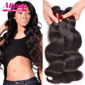Eurasian Virgin hair 8A Unprocessed Body Wave 4 pcs lot Free Shipping Eurasian Hair Body Wave Human Hair Weave No Tangle Soft