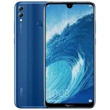 名誉 8X最大 7.12 インチの携帯電話アンドロイド 8.1 16MPオクタコア画面指紋id 4900 2000mahのバッテリースマートフォン