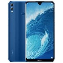 Ehre 8X Max 7,12 inch Handy Android 8,1 16MP Octa Core Bildschirm Fingerprint ID 4900mAh Batterie Smartphone